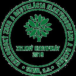 Zeleny certifikat SEWA