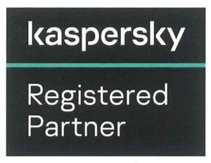 Kaspersky registered partner